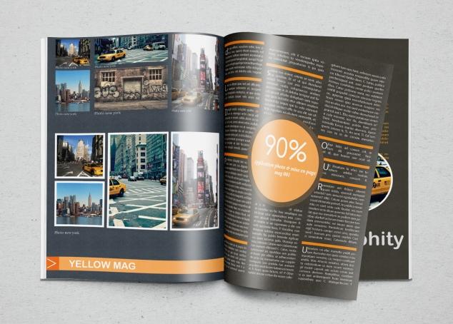 Photorealistic Magazine MockUp2